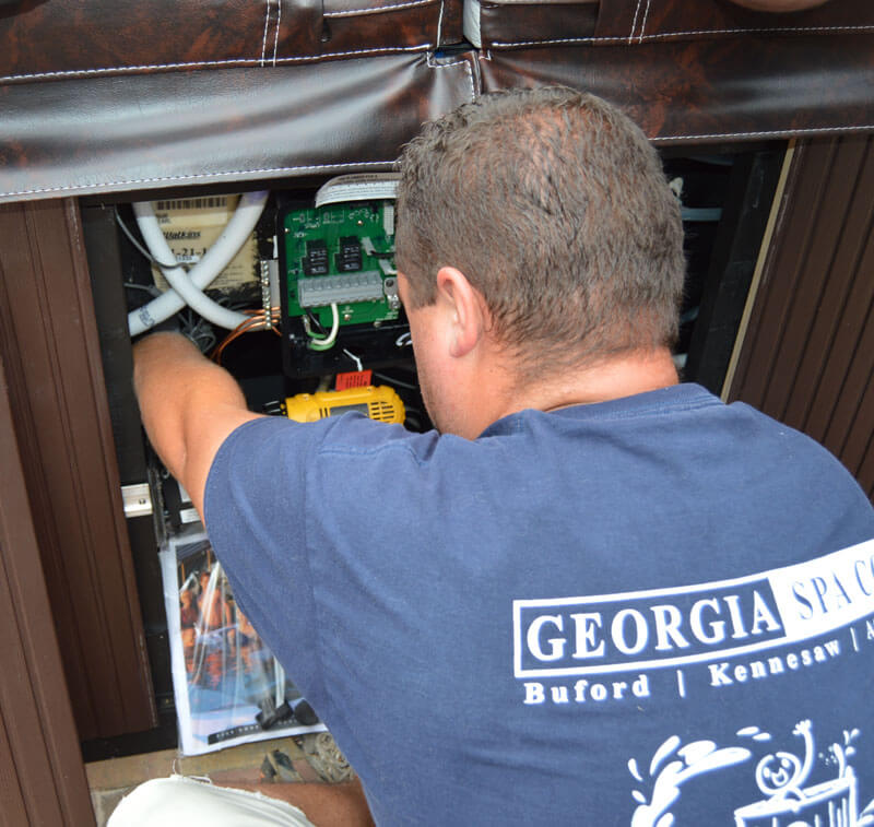 Georgia Spa Co. hot tub repair