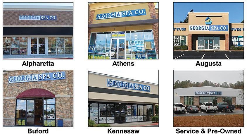 Georgia Spa Company Location Images