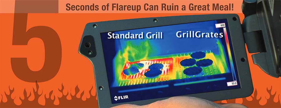 GrillGrate Flare-Up
