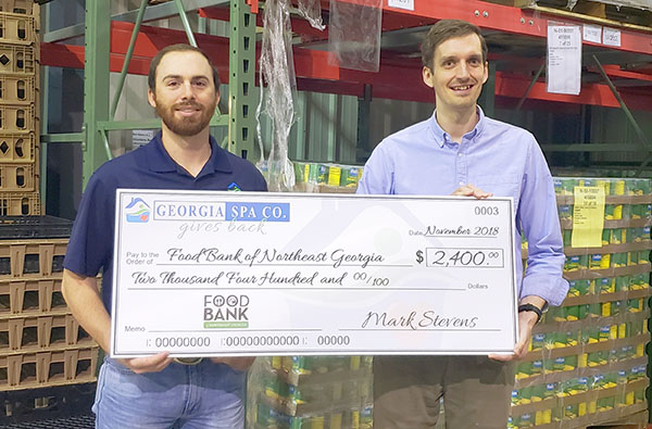 Gives Back Food Bank of Northeast Georgia