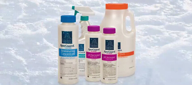 SpaGuard Spa Chemicals Family Image
