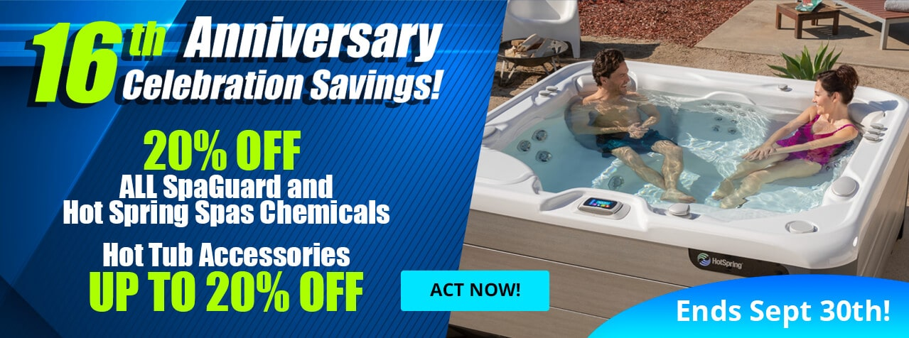 SpaGuard and Hot Spring Spa Chemicals Sale