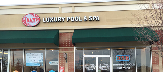 Pool and Spa Showroom in Charlottesville, VA
