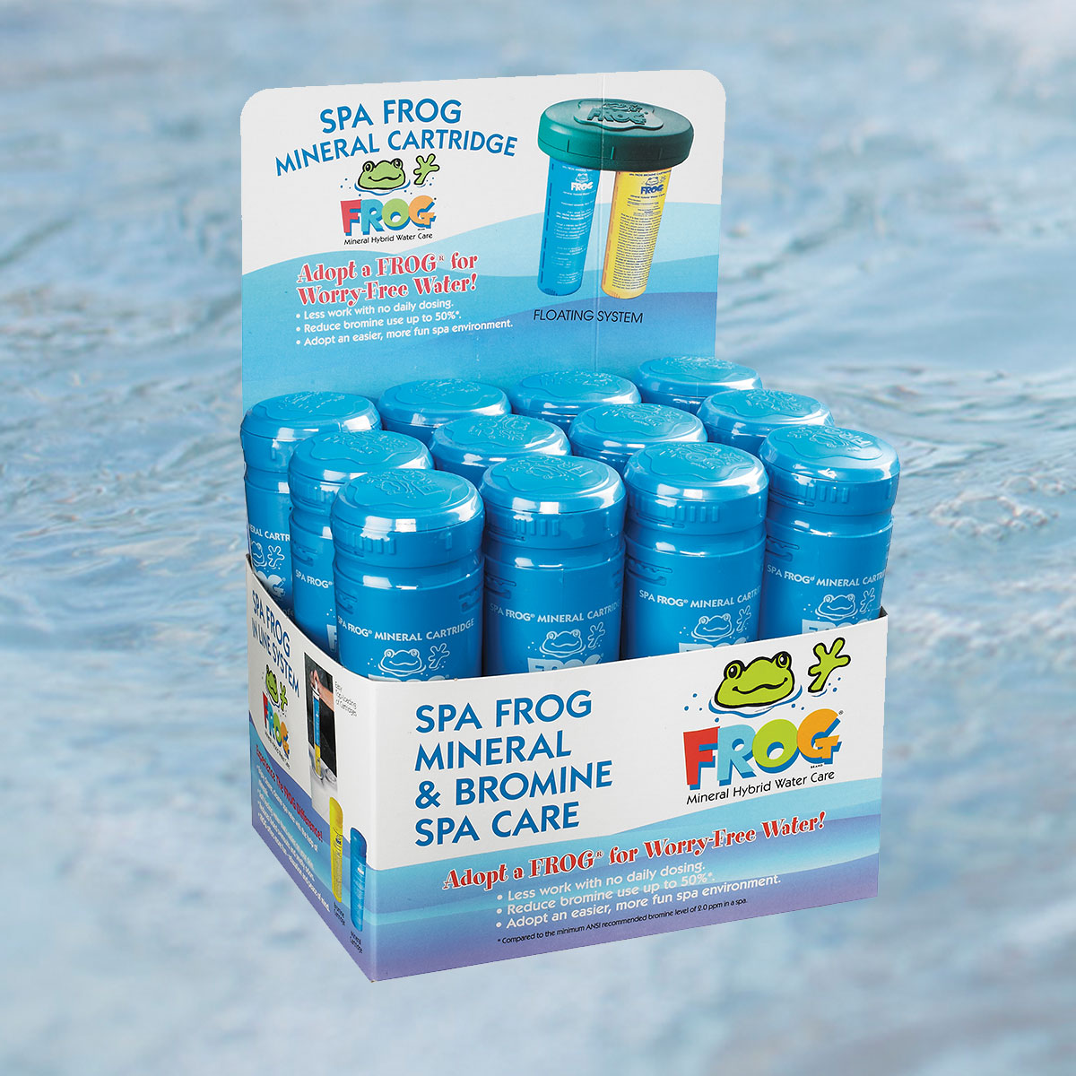spa frog water care caldera