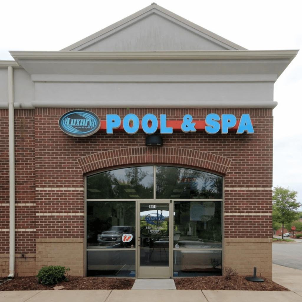 Hot tub and Pool showroom in Fredericksburg, VA