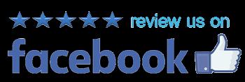 Facebook reviews logo for hot tubs in Charlottesville, VA