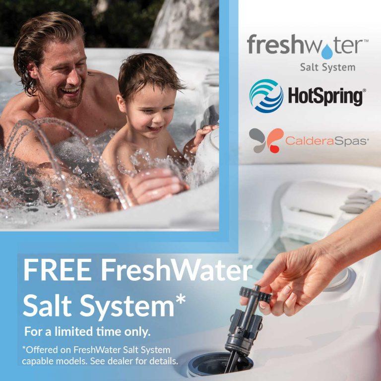 Free Salt System promo offer. Click for details.