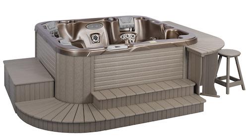 Hot tub surround