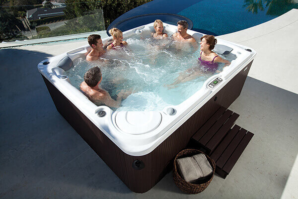 Hot Spring spas at Hot Tubs by Hot Spring