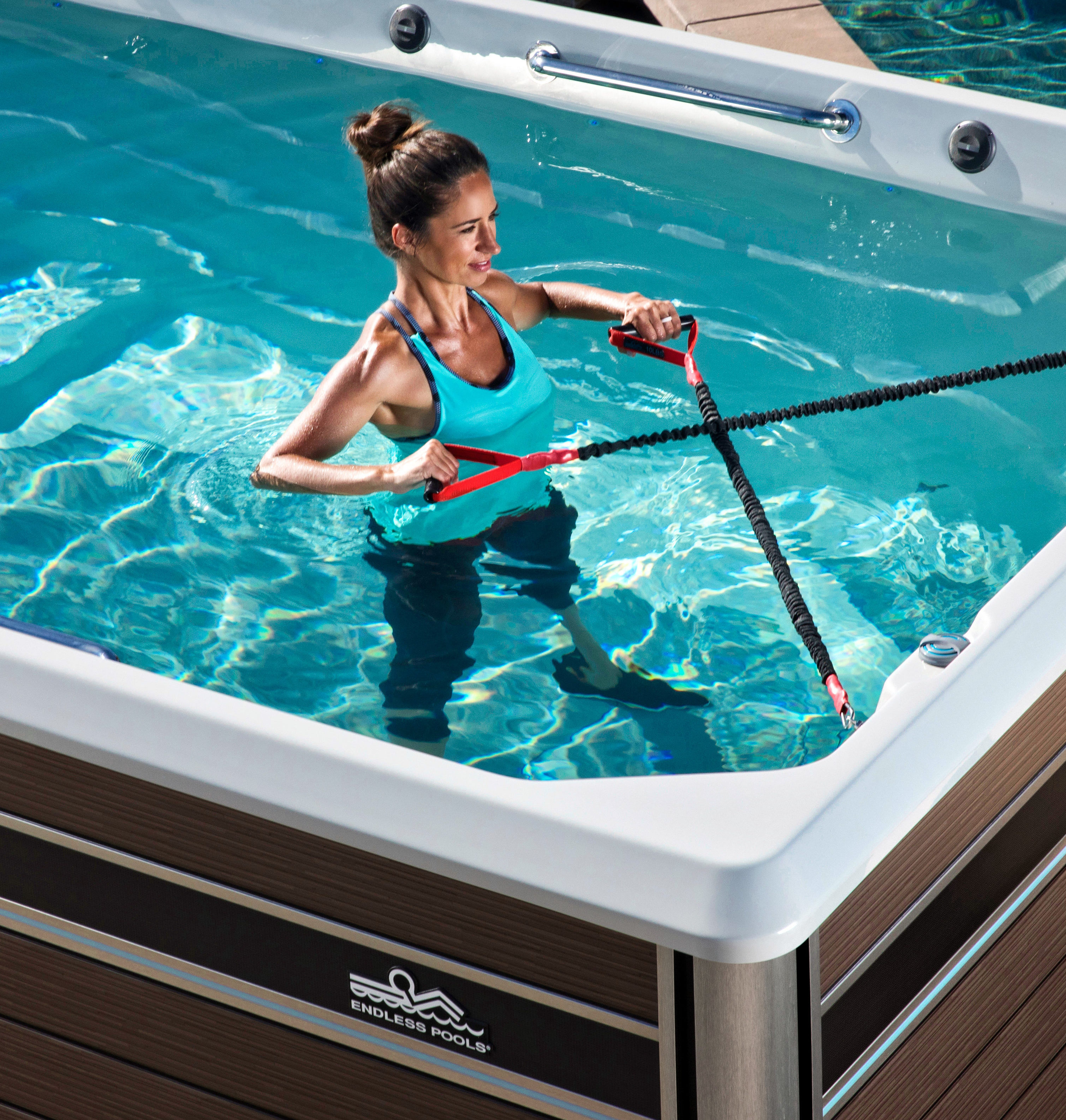 Endless Pools Accessories Add Variety to your Aquatic ...