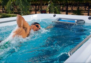 Swimming in an Endless Pools Fitness System