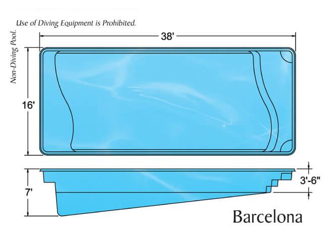 Viking Pool Barcelona