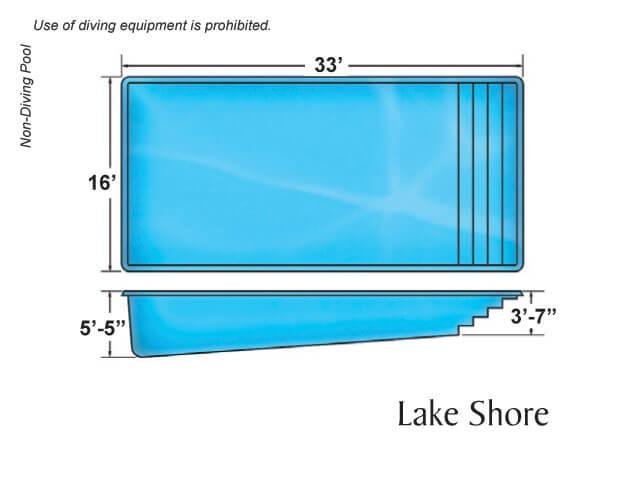 Viking Pool Lake Shore