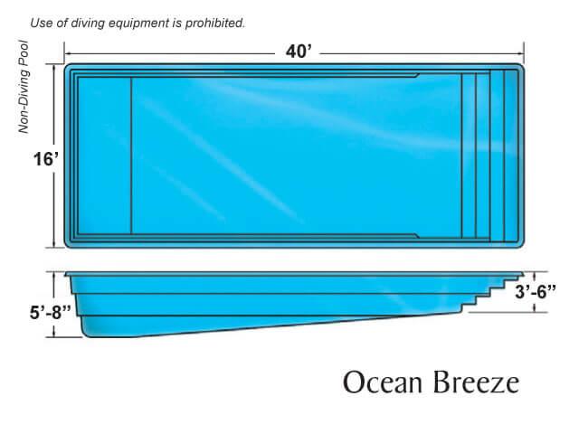 Viking Pool Ocean Breeze