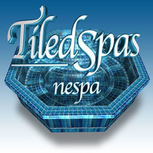 Nespa tiled spas at Northwest Hot Springs