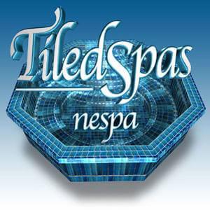 Nespa tiled spas at Northwest Hot Springs