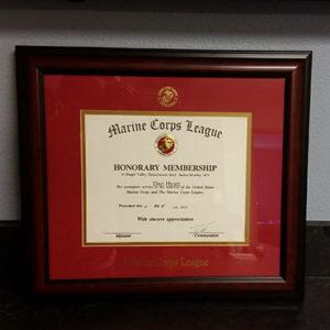 Marine Corps Honorary Membership