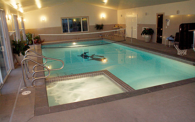 Custom Plaster Pools Family Image