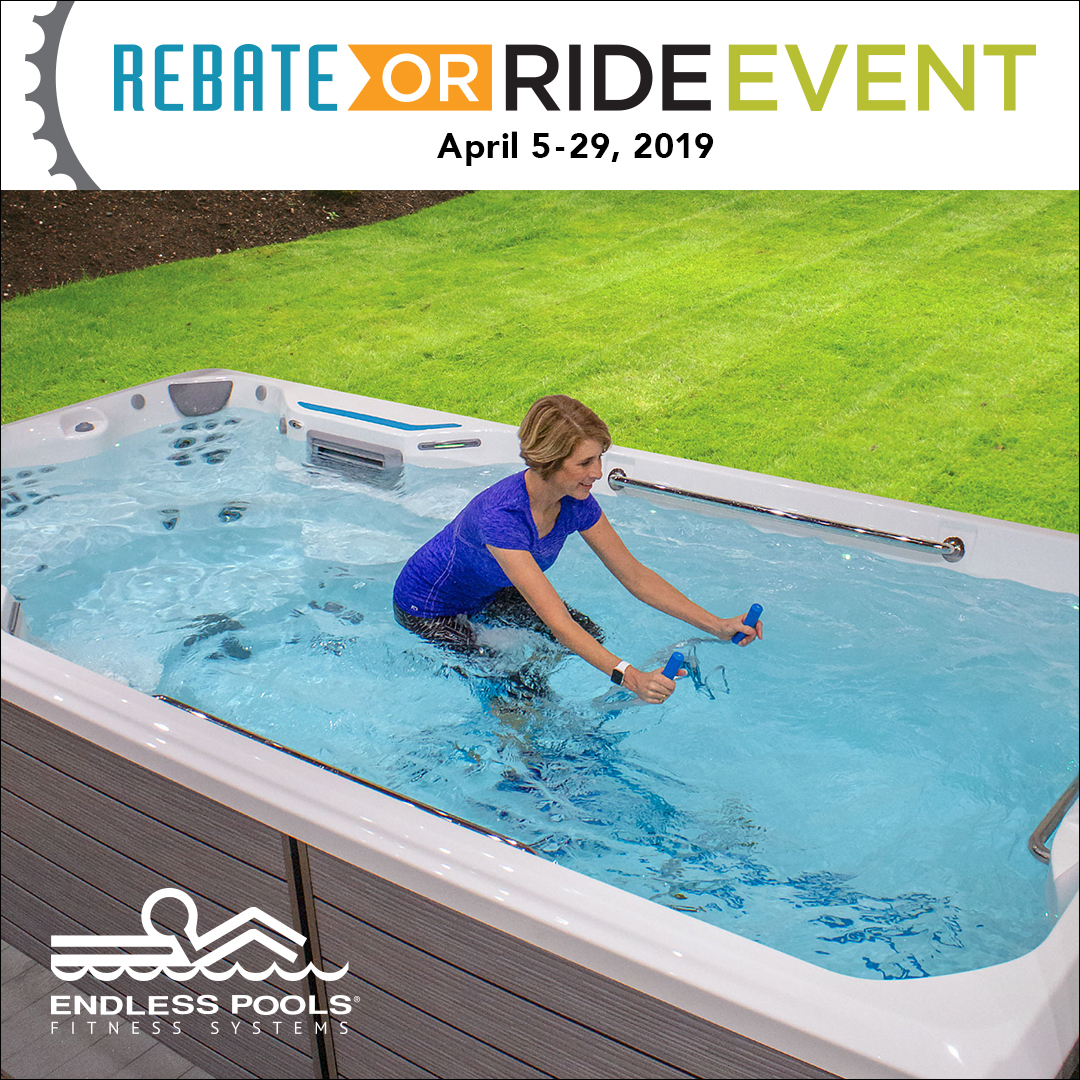 2019 Endless Pools Rebate or Ride Event